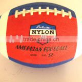 Cheap OEM rubber material size 6 american football