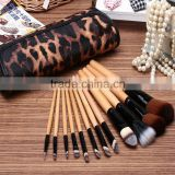 Go pro brand name long handle wholesaler professional private label synthetic bamboo makeup brush factory manufacturers