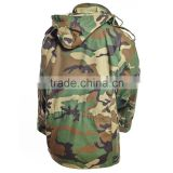 uniform M65 jacket - woodland camo us navy uniforms waterproof m65 coat