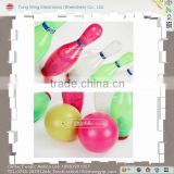 kids plastic children bowling ball, bowling pin set toy