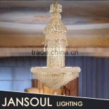 church large luxury pendant light made in china empire crystal chandelier from china supplier