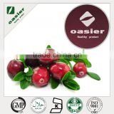 GMP Manufactory Supply 1% to 50% Proanthocyanidin Cranberry Extract with ISO Kosher Halal Certificate