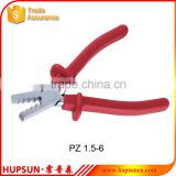 PZ 1.5-6 Germany style crimping pliers for terminal 1.5-6mm2 crimping pliers crimping tools
