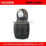 YUCHEN Car Shift Gear Knob With Black/Silver Caps For Skoda Fabia II MKII 2000-2008 OEM 6Y0711113H