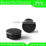 Black Plastic Round Post Caps End Tube Inserts /Round Tube Insert                                                                         Quality Choice