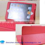2013 new Mini Bluetooth Keyboard with Pu Leather Case for mini ipad