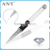 ANY Nail Art Beauty Care Crystal UV Gel Nails Design Liner Painting Nail Artist Nail Brushes