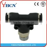 PB black plastic pipe fittings pneumatic air hose fitting pneumatic connector plastic pipe fitting