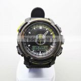 Own module swiss movt analog lcd watch