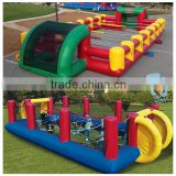 cheap inflatable human foosball court for sale