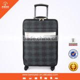 Factory Wholesale 20 inches PVC Shell 360 degree Spinner Wheels Men Trolley Luggage                                                                         Quality Choice