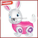 Battery operated small plastic rabbits