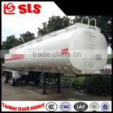 Double axle fuel tanker trailer dimensions sale