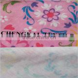 Wholesale alibaba print spun polyester fabric, spandex fabric, colorful fabric for dress