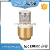 ART.4006 China 1/2 3/4 1 1/4 2 Inch Durable Professional Ball Type Brass Vertical Spring Check Valve Price for Hot Water Systems