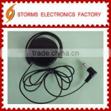 Disposable Mono headphone tour headset for tourist guide system