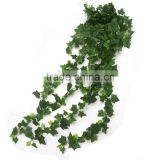 2016 new design cheap wholesale green plastic artificial ivy