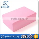 Wholesale Red Widely Used Yoga Brick,Foam Yoga Brick,Soft Yoga Block