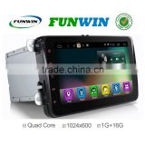 2016 Newest Quad Core android 4.4.2 full touch panel 2din universal GPS with RDS 1G+16G 1024*600