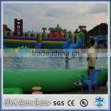 backyard inflatable floating water gun for water park
