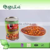 health food top quality 425g canned white bean in tomato sauce sell to middle east market