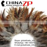 ZPDECOR Bulk Wholesale In Stock RED CHINCHILLA Strung Chinese Rooster Saddle Wholesale feathers