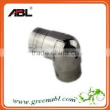 ABLinox stainless steel 60 degree elbow pipe fitting, elbows for railing, balustrade flush angles