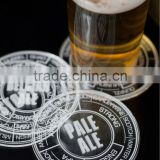 hotel furniture/coaster-y1309612/acrylic cup pad/clear beer cup pad/round acrylic coaster/glass coaster