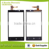 Cell Phone Spare Parts Touch Panel for Nokia Lumia 820 Digitizer