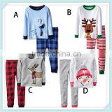 New spring baby clothing sets cotton girl Christmas clothing boys suits children pajama set Long sleeves kid clothing sleepwear
