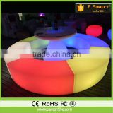 2016 New Module LED Bar table furniture with ice container