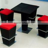 Eco-friendly PE Rattan or wicker Bar sets