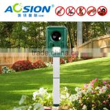 Aosion Ultrasonic Solar Powered Cat Repeller Animal Chaser Deterrent Repellent For Dog