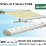 2014 Hot sale full cassettte electric awning tubular motor(remote control)