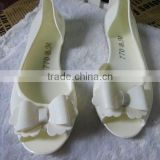 New popular white jelly shoe