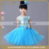 free shipping New fashion angel style baby girl party dress children frocks designs kids girls dresses