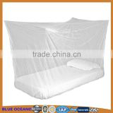 100% polyester rectangular quadrate insecticide treated mosquito net with who approval