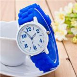 Ladies Silicone Wrist Watch Fashion Geneva Watch