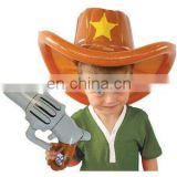 inflatable Cowboy Hat and Gun