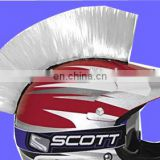 Helmet Customization White Mohawk