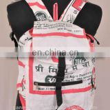 Printed Hemp Backpack BPK 0008