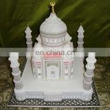 Indian Handcrafted Decorative Marble Taj Mahal Miniature
