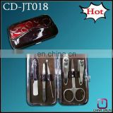 6pcs leather travel manicure set CD-JT018