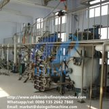 100tpd full continuous groundnut oil refining plant