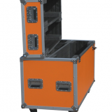 Concert Subwoofers Packing Stackable Rolling Flight Case 2in1