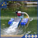 Mini gold mining dredge river sand dredging machine