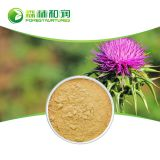 100% Natural Milk Thistle P.E./Milk Thistle Seed Extract/Silymarin powder 80% 65666-07-1