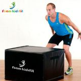 4 levels professional plus heavy anti-slip jump vaulting box for training explosiveness