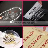 custom heat-resistant water -proof kraft paper label stickers for food,electronic equipment.lipstics packaging