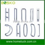 Stainless steel commercial glass door pull handle for furniture handle